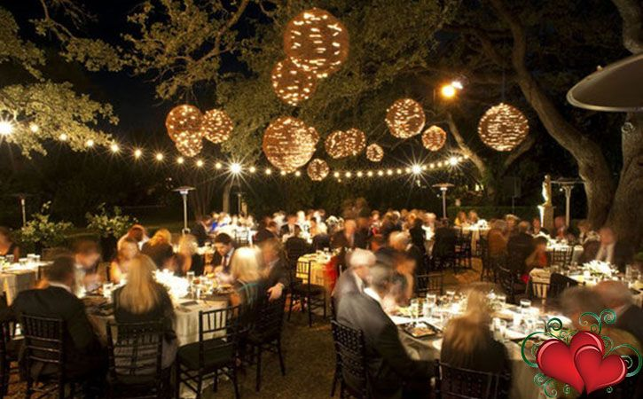 small backyard wedding reception | Wedding Inspiration | Pinterest ...