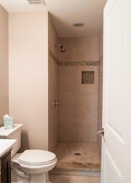 Small doorless shower designs 13 757 small doorless - Doorless shower in small bathroom ...