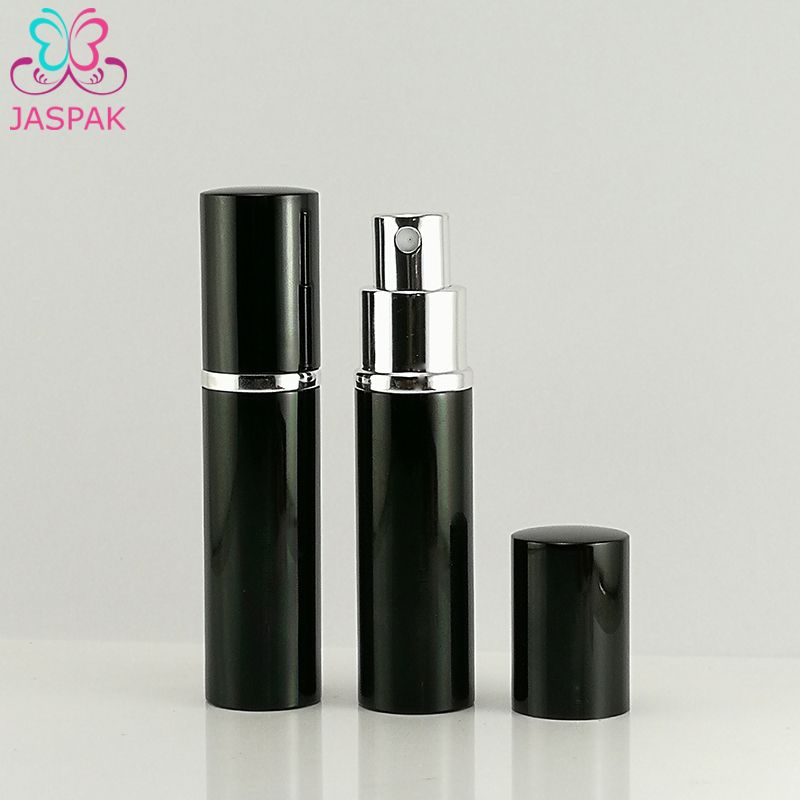 Pocket Aluminium Luxury Fancy 5ml 10ml Spray Pump Empty Perfume Bottle