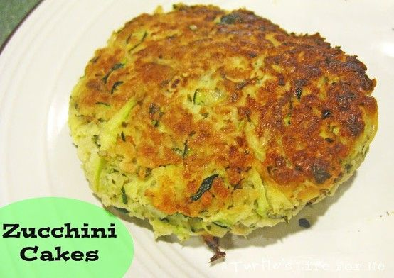 A Turtle's Life for Me: Zucchini Cakes
