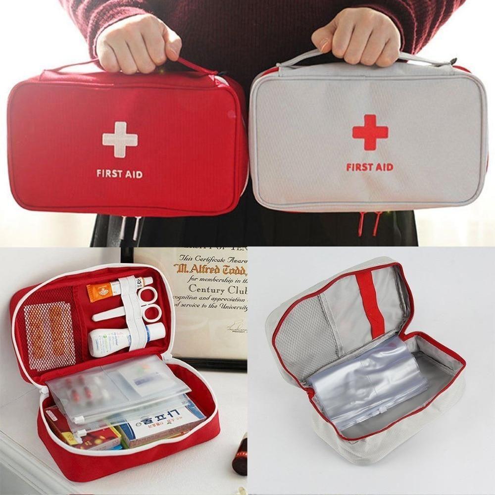 Portable First Aid Bag Medicine Storage Travel Case First Aid Kit Travel Camping First Aid Kit Survival First Aid Kit