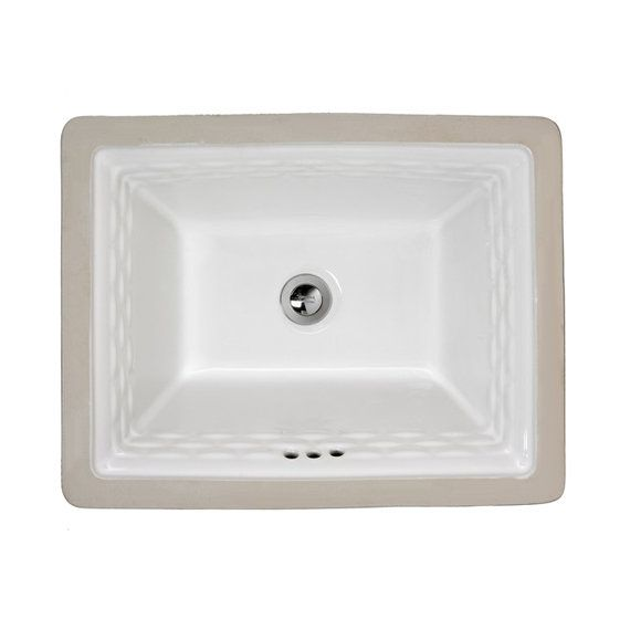 "View the American Standard 0615.000 Rattan 16"" Undermount Porcelain Bathroom Sink at FaucetDirect.com."