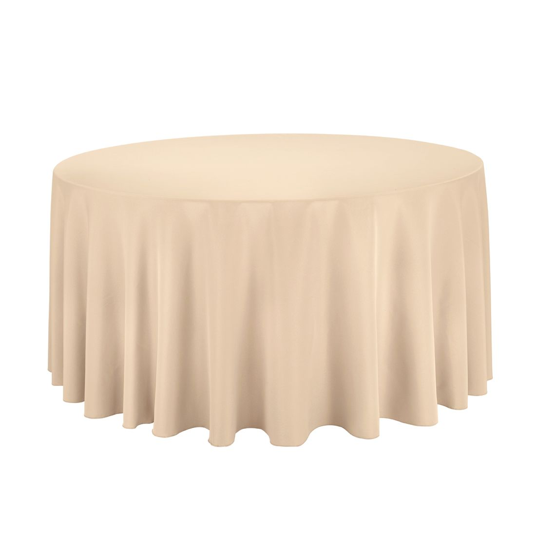 Round Polyester Tablecloths For Weddings And Events. Why Is Poly The Go To Table  Linen Fabric For Events? No Other Cloth Offers The Same Beat U0027em Up ...