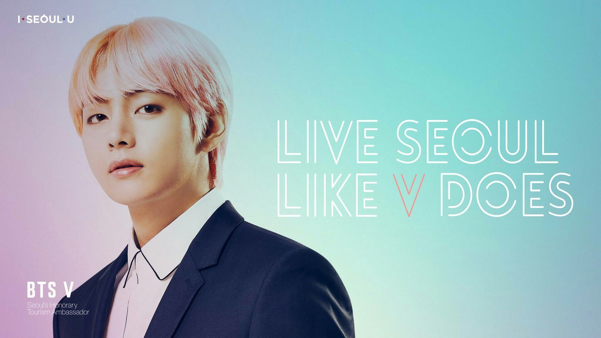 Pc Wallpaper Live Seoul Like I Do Liveseoullikebtsdoes Myseoulplaylist Tae Bts V Seoul Bts Taehyung