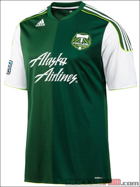 wholesale dealer 5b13d 2f75f adidas Portland Timbers Home Jersey 2012...$71.99 | MLS ...