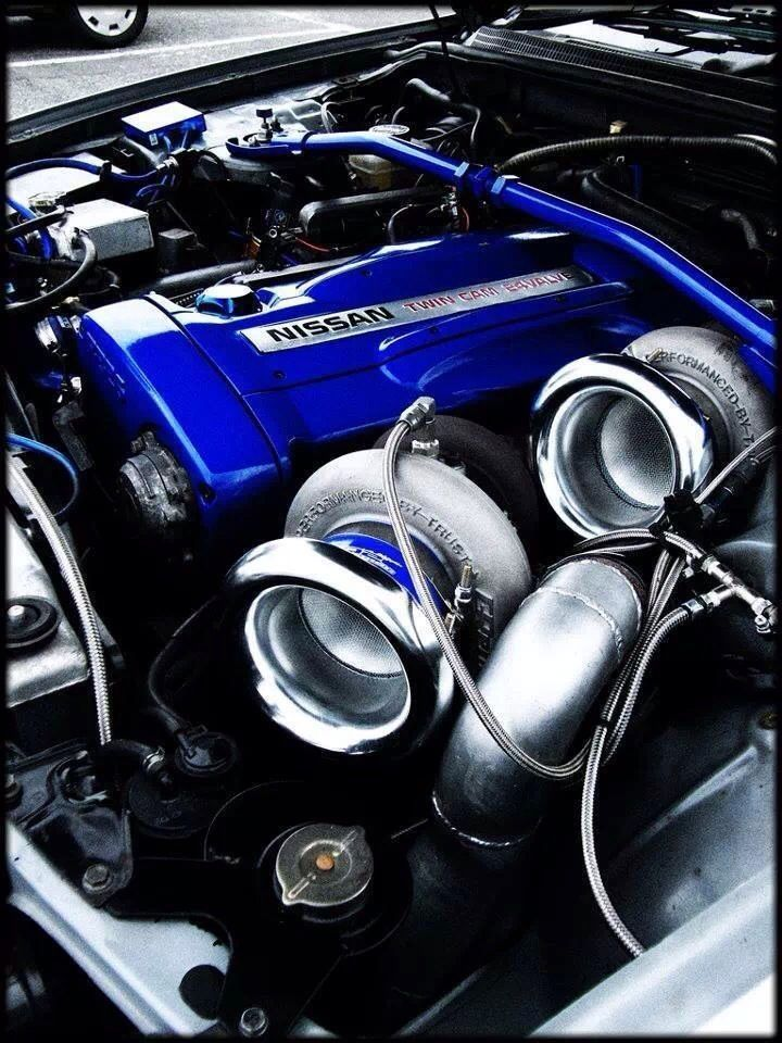 nissan rb26 twin turbo engine layout - Google Search | Ol\'Skool Cars ...