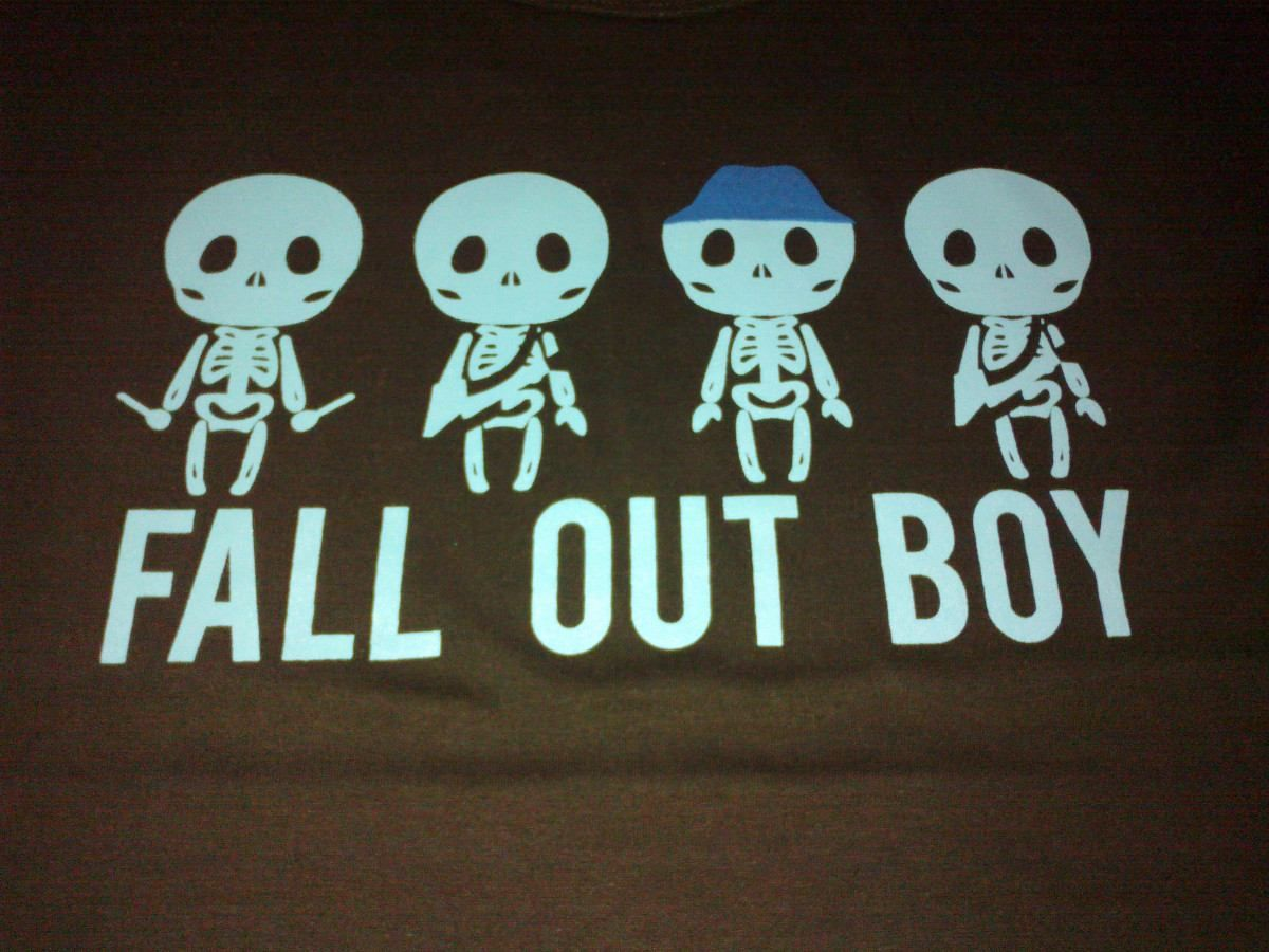 images for gt fall out boy save rock and roll crown logo