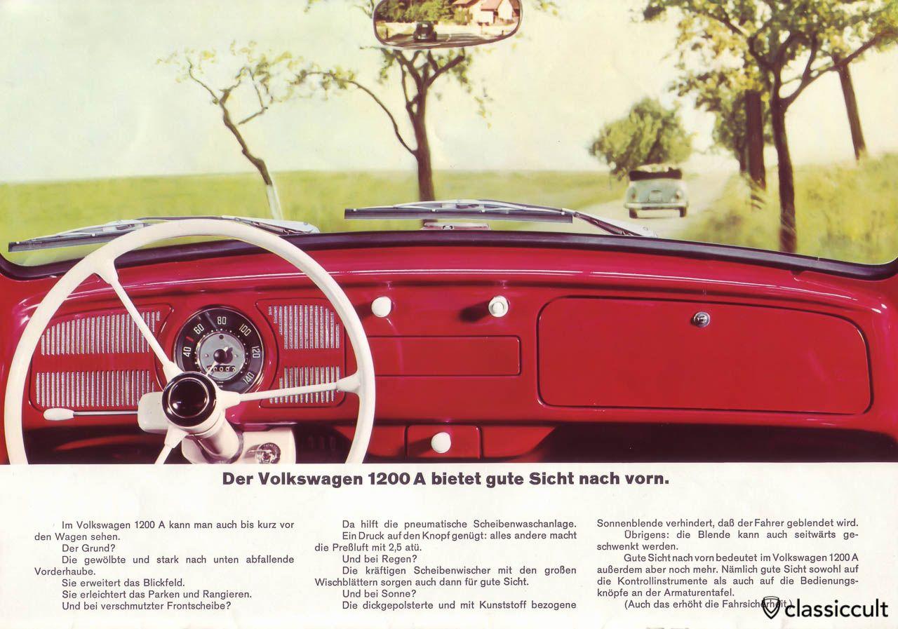 1965 Vw Steering Column Diagram Reinvent Your Wiring 1967 C10 Schematic 34hp 1200a Standard Beetle Brochure Classiccult Volkpins Rh Pinterest Com Chevelle Mustang