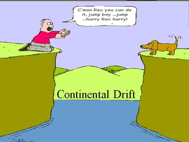 Continental drift is the movement of the Earths continents ...