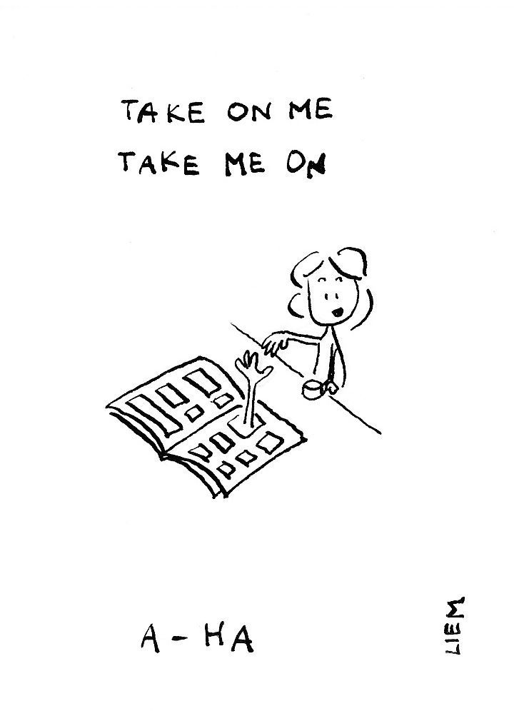 Take On Me A Ha Zumba Version Music Lyrics 80s Songs Take