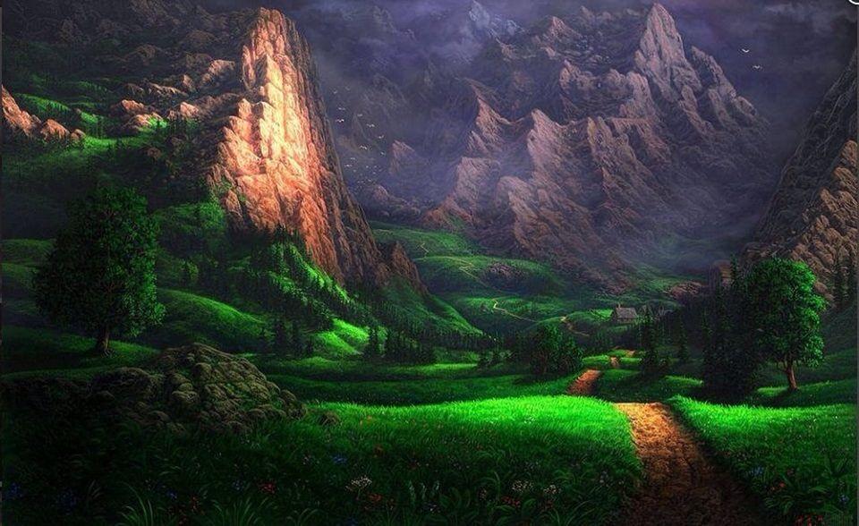 Pin by Aaron Anderson on Dreams⭐️ Fantasy landscape