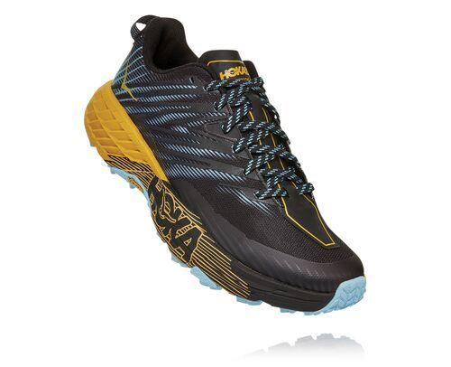 Photo of HOKA Speedgoat 4 Trail løpesko for kvinner i Antigua Sand / Anthracite, størrelse 11