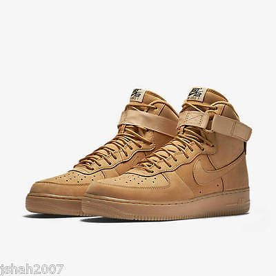 Nike air force 1 one high wheat flax lv8 all sizes uk 6-12 limited edition  new