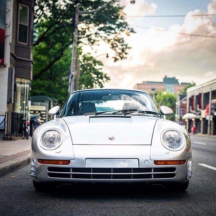 The Porsche 959, Was Designed To Become
