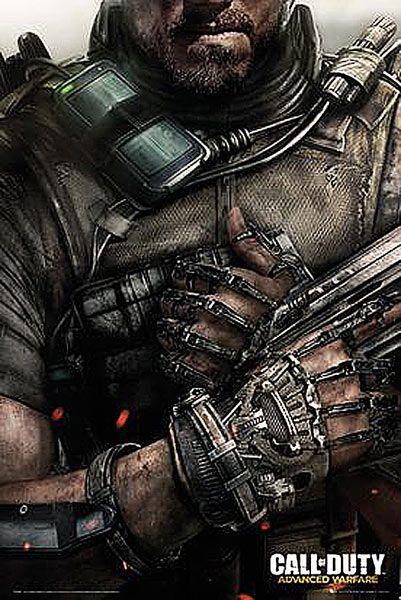 Poster Portada Call Of Duty Advanced Warfare Poster Perteneciente