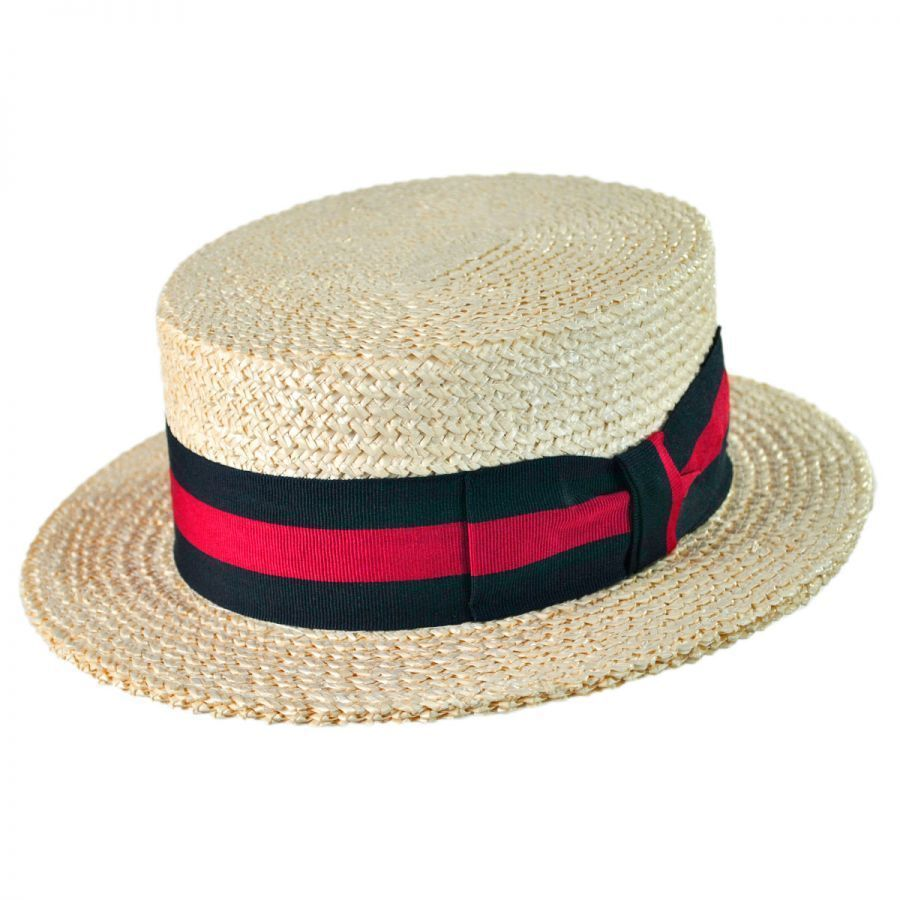 20d659606 Italian Straw Skimmer Hat in 2019 | Chosen clothe | Mens straw hats ...