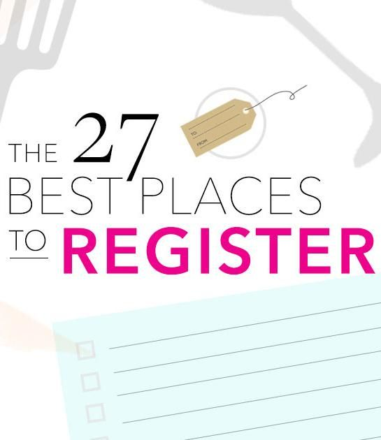 Where To Register The  Best Wedding Registry Sites  Stores  You