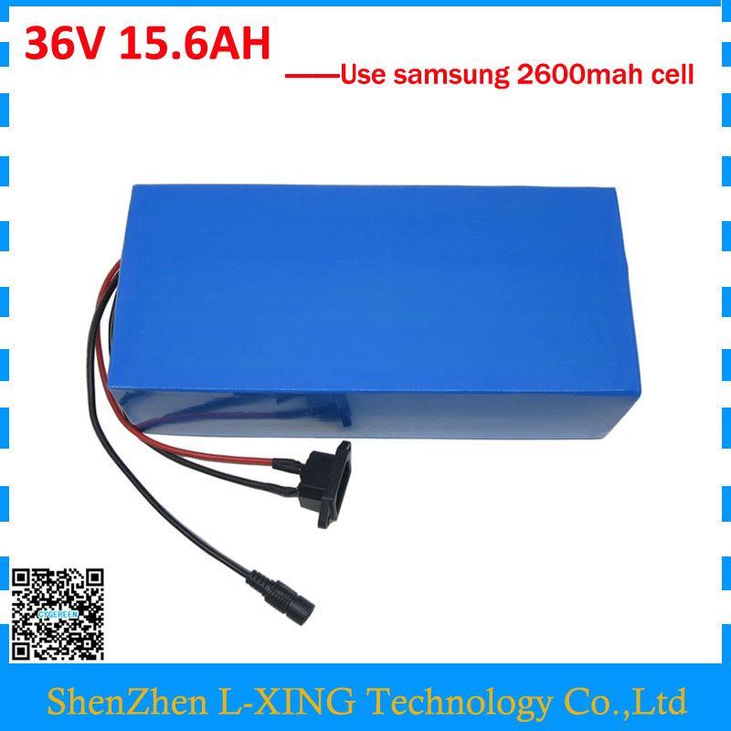 Free Customs Fee 36v 15 6ah Battery Pack 500w 36 V 15 6ah Electric