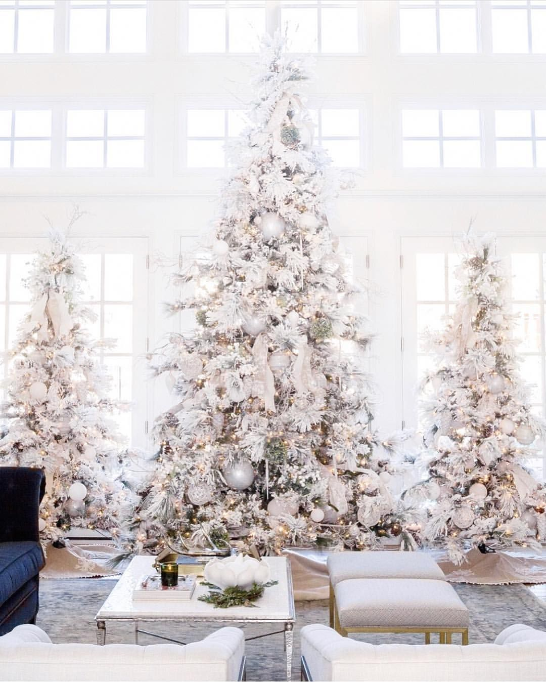 I Keep Vacillating Between I M Keeping It Simple This Year One Tree On Elegant Christmas Trees Elegant Christmas Tree Decorations Christmas Tree Inspiration