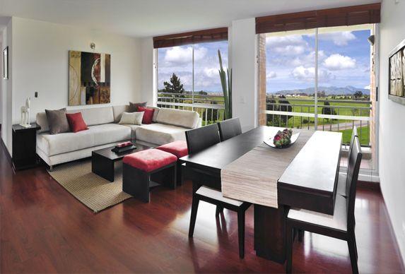 Apartamento-Granada-Club-Residencial-Sala-Comedor | Sala | Pinterest ...