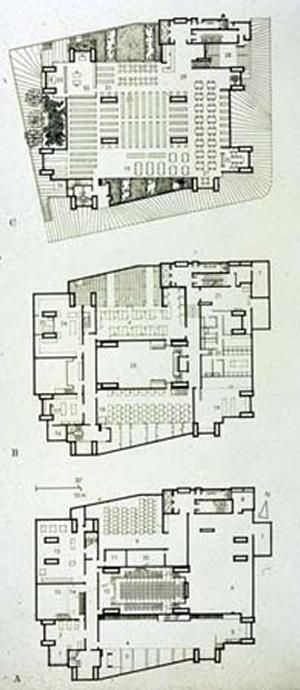 paul rudolph yale university art and architecture building plan - Google'da Ara