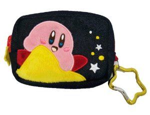 Nintendo Kirby Adventures Mini Navy Pouch