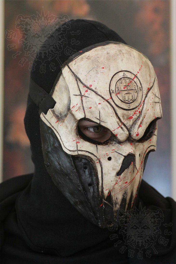 Abaddon by satanaelart on deviantart cool masks mask