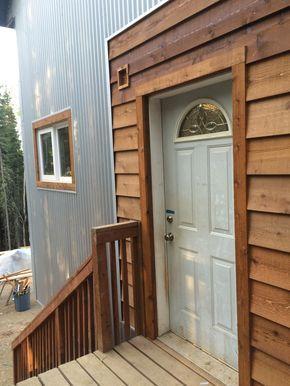 Best Corrugated Metal And Cedar Siding Google Search Wood 640 x 480