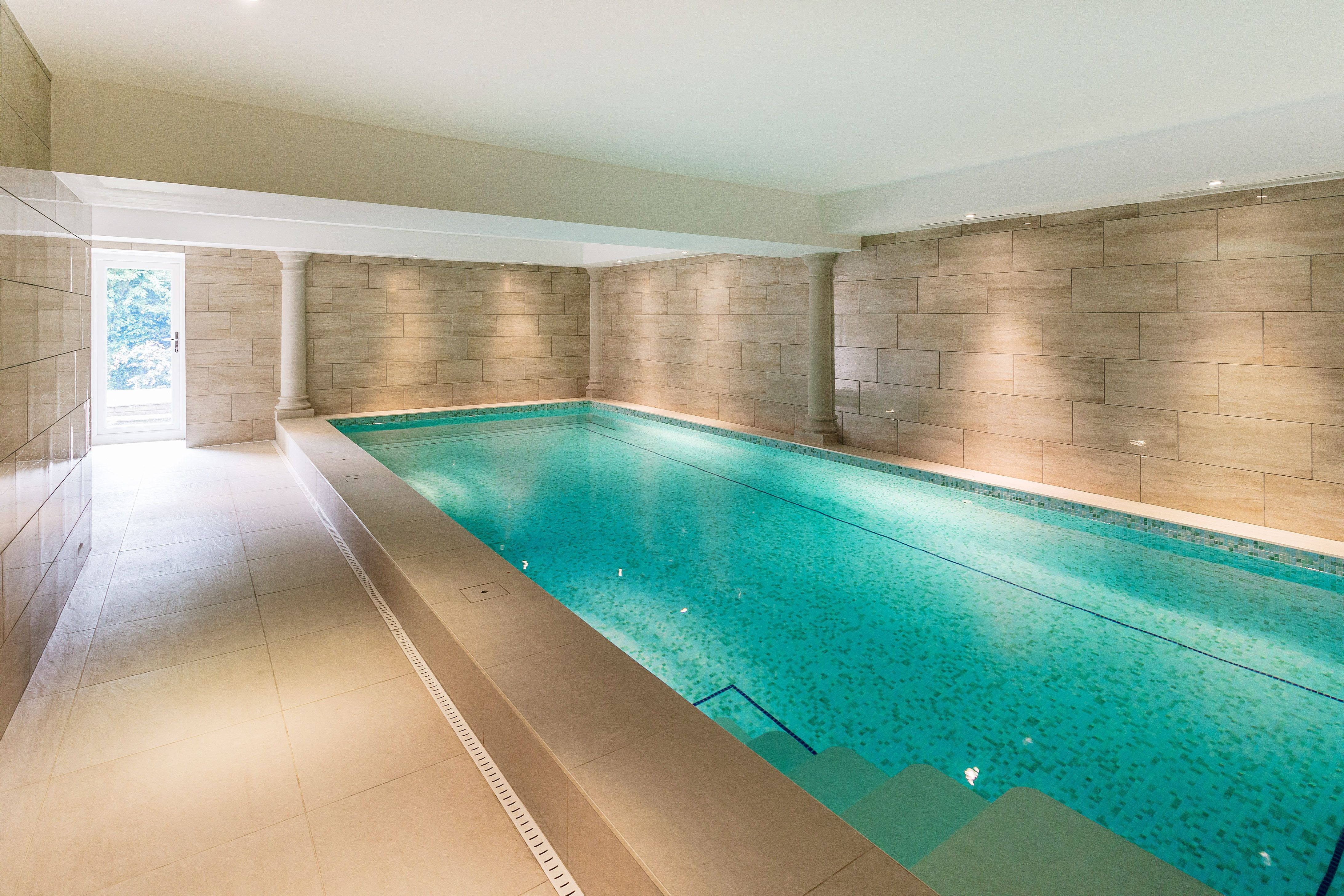 Basement Swimming Pool Design Work Up An Appetite Before Dinner With A Few Lengths In The