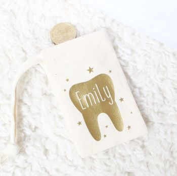 'Tooth Fairy' Personalised Bag