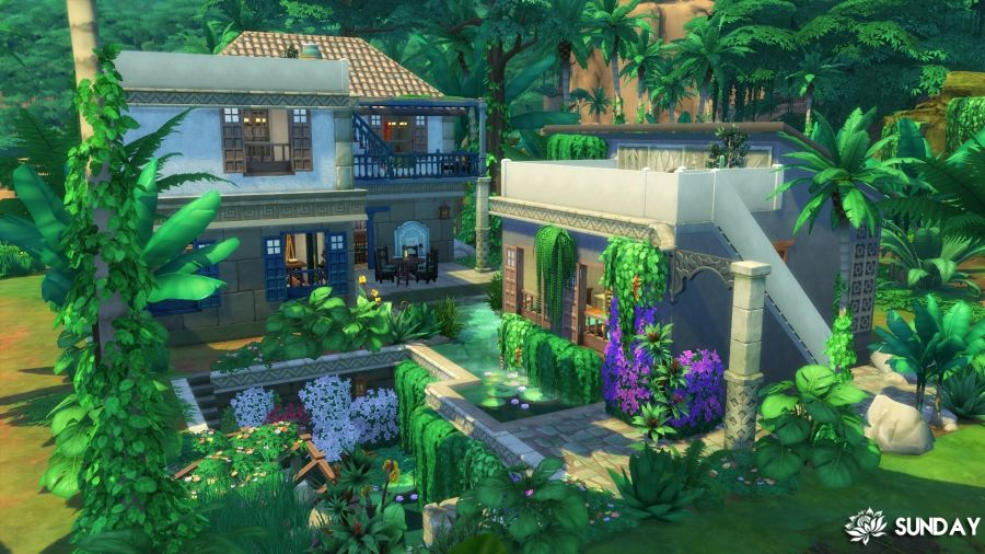 Sims 4 Maison Selvadorada Sims 4 Maison Maison Sims Sims
