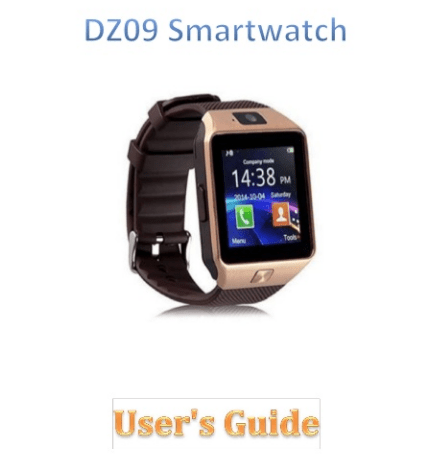 Download] DZ09 Smartwatch User Manual PDF QR Codes  apk