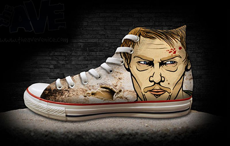 If It's Hip, It's Here: Custom Kicks Feature Pop Culture