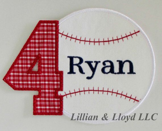 Hey, I found this really awesome Etsy listing at https://www.etsy.com/listing/231554693/personalized-baseball-number-iron-on applique