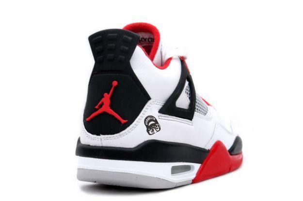 8be28a45777 Air Jordan 4 (IV) Retro - Mars Blackmon (White   Varsity Red - Black ...