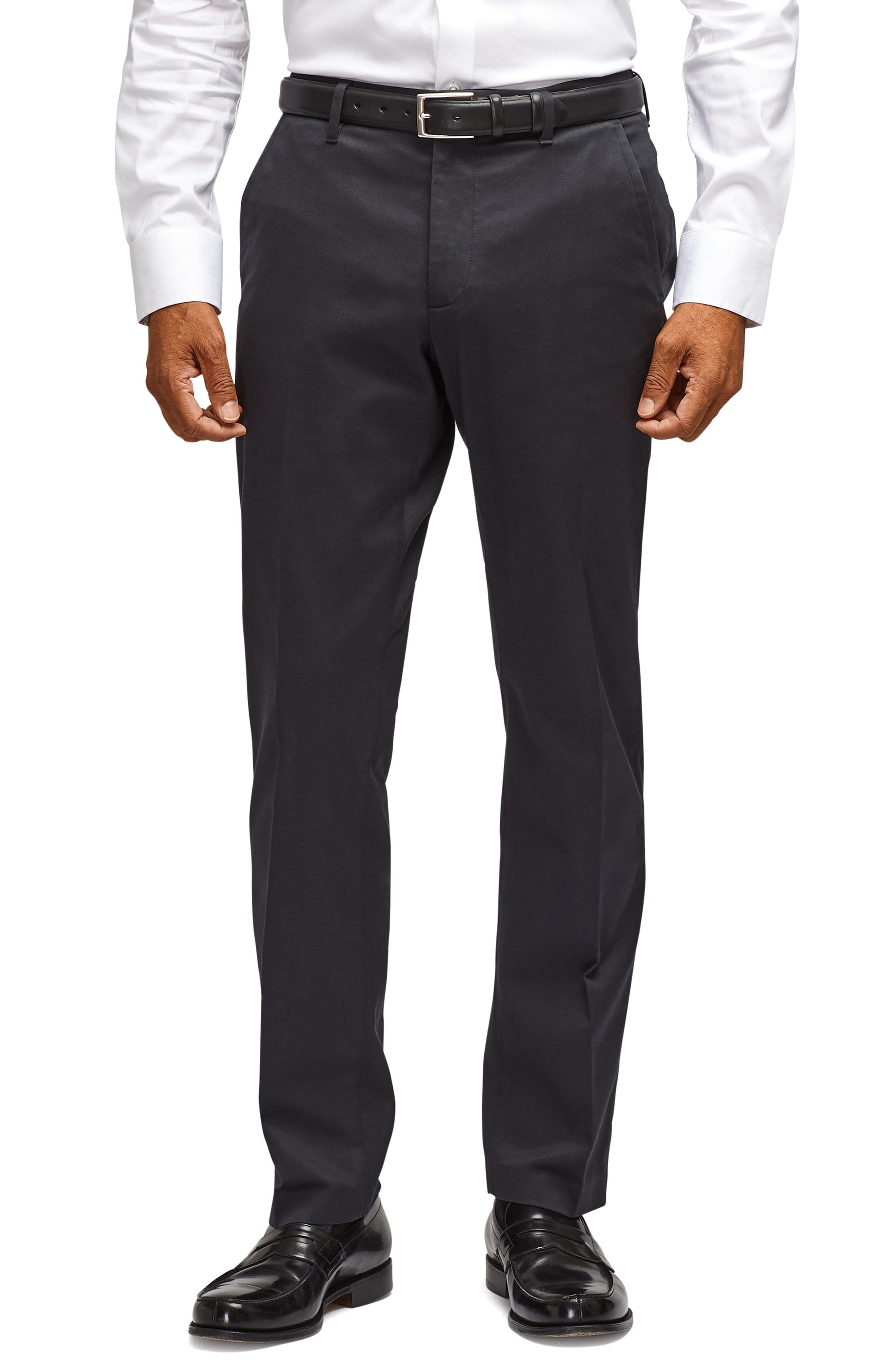 Men S Bonobos Weekday Warrior Tailored Fit Stretch Pants Size 30 X 30 Black Slim Fit Dress Pants Slim Fit Dresses Fitted Dress Pants [ 4048 x 2640 Pixel ]