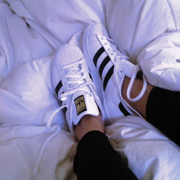 promo code 458bd 4dc50 adidas, aesthetic, athletic, bed, black, black and white, clothes,  clothing, excited, fashion, goals, gold, grunge, happiness, happy, jeans,  laces, love, ...