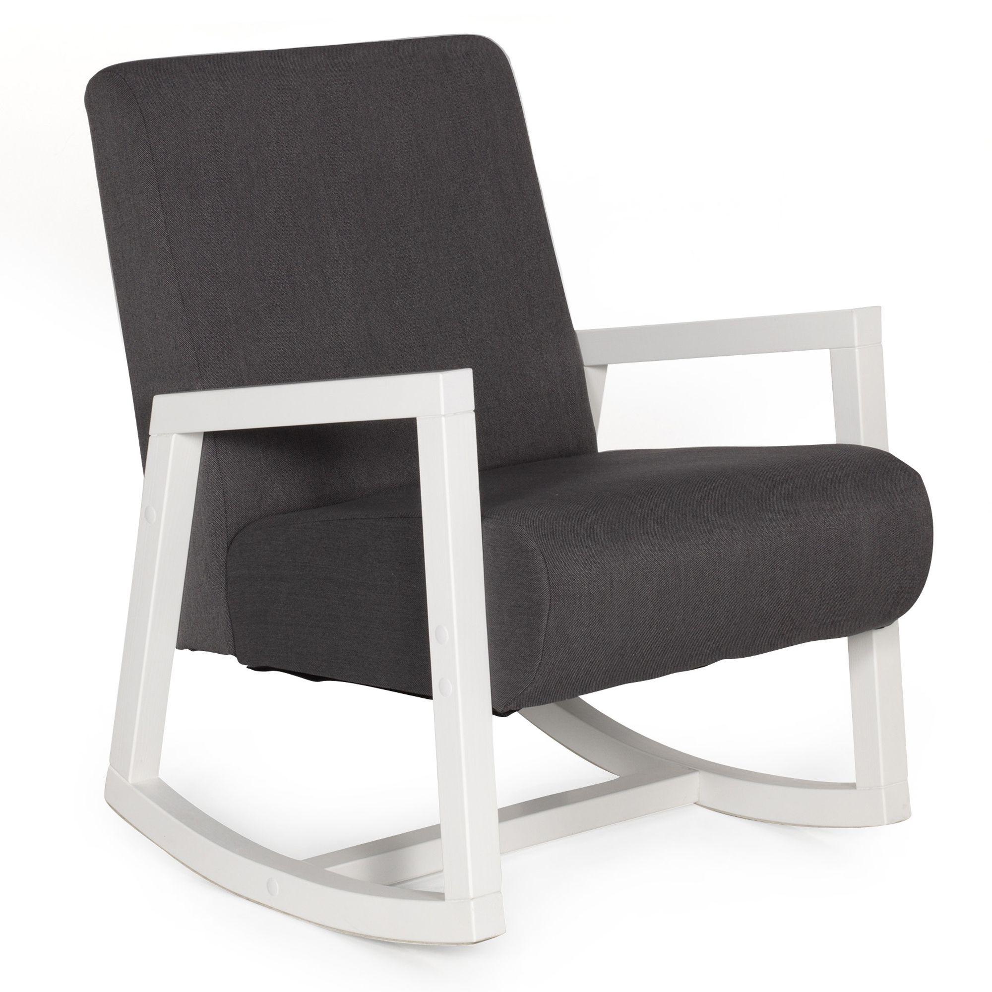 150 Fauteuil Rocking Chair Rocky Fauteuils Et Poufs Alinea  # Table Tv A Roulette Alinea