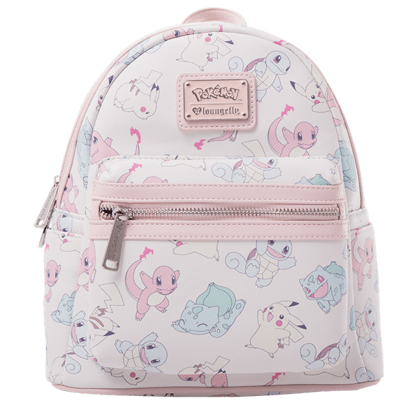 5d1be680053 Pokemon - Pastel Starters Loungefly Mini Backpack - ZiNG Pop Culture ...