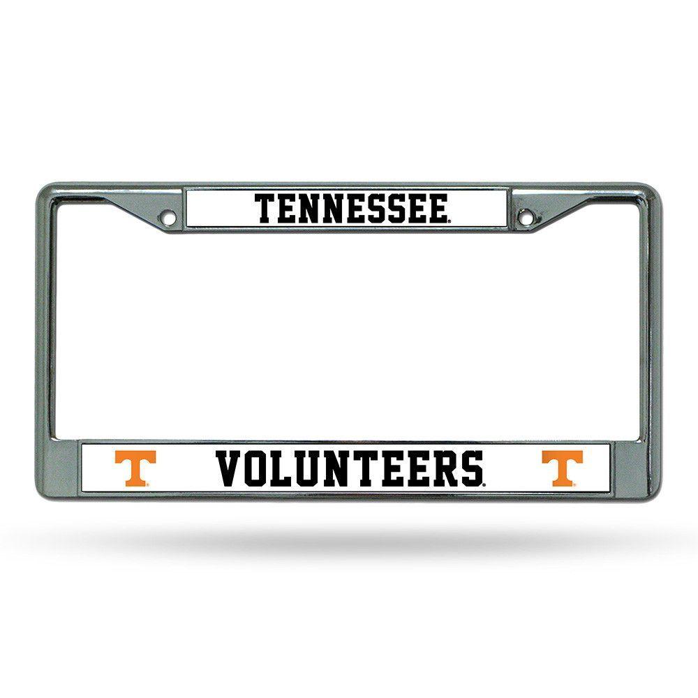 Tennessee Volunteers NCAA Chrome License Plate Frame