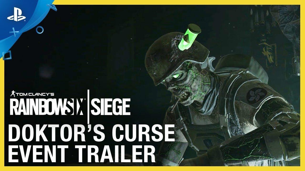Rainbow Six Siege Doktor S Curse Event Trailer Ps4 Rainbow