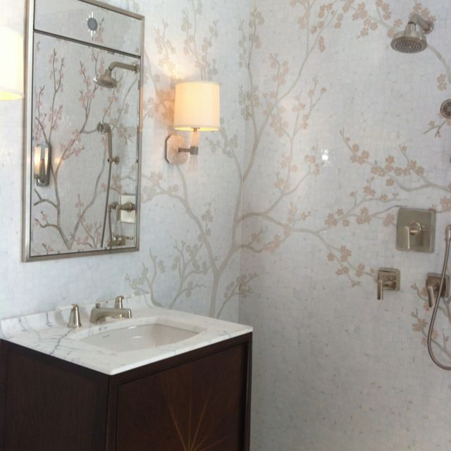 Cherry Blossom Bathroom | 115 Bathroom | Pinterest | Cherry blossoms ...