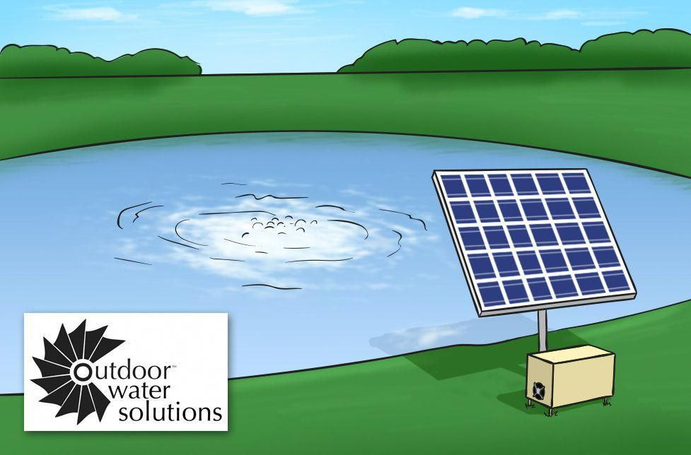 Outdoor Water Solutions Solar Pond Aerators Solarpanels Solarenergy Solarpower Solargenerator Solarpanelkits Solarwaterheater Solarshingles Solarcell Solarpowe In 2020