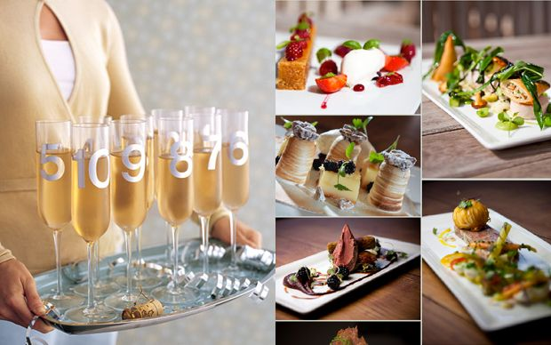 New Year S Eve Wedding Ideas Countdown With A 10 Course Tasting Menu