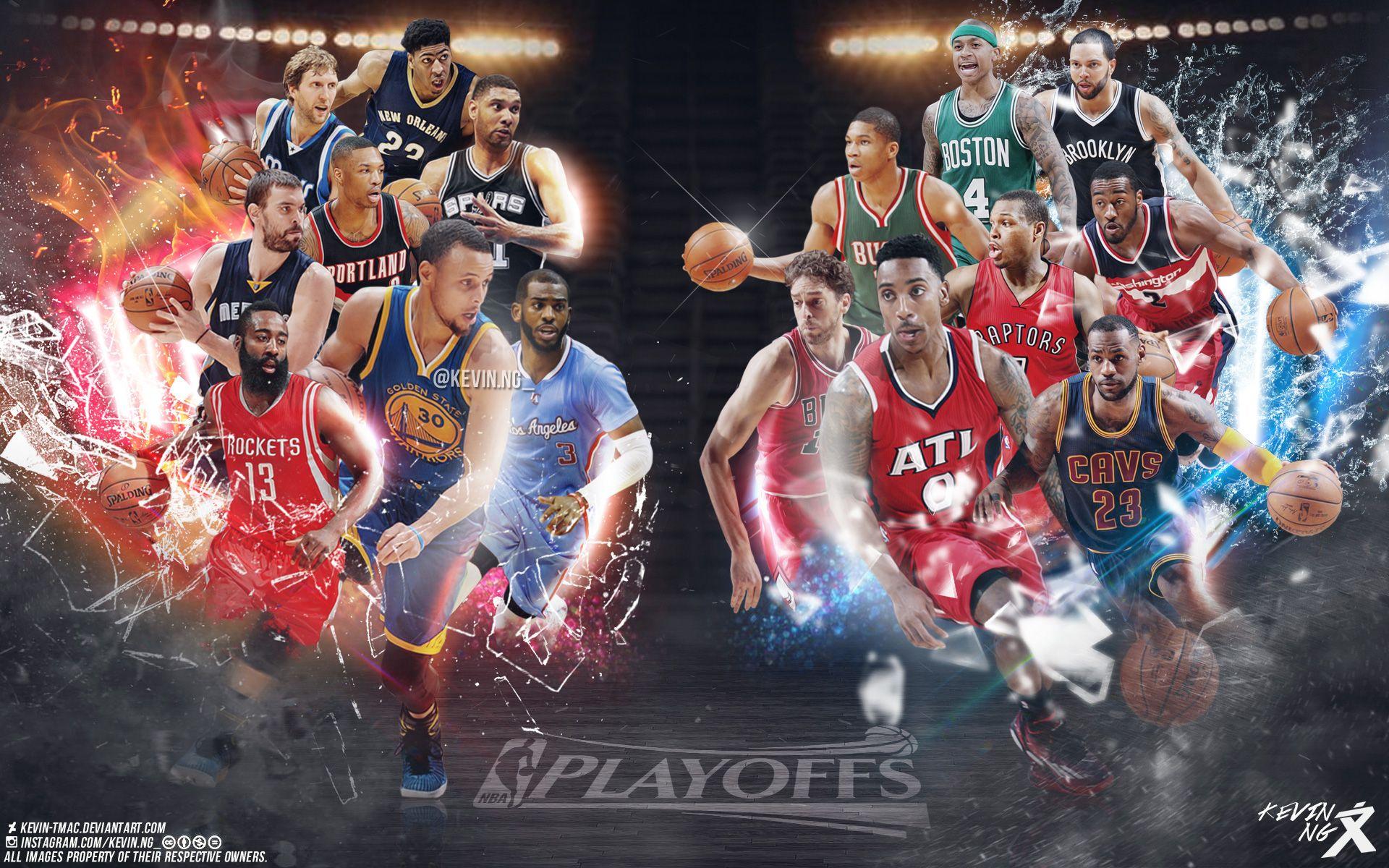 Allstars Teams Nba Wallpapers Basketball Wallpaper Nba Playoffs