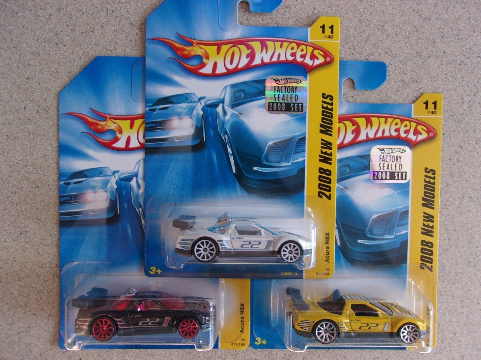 Nice great hot wheels new models variations acura nsx