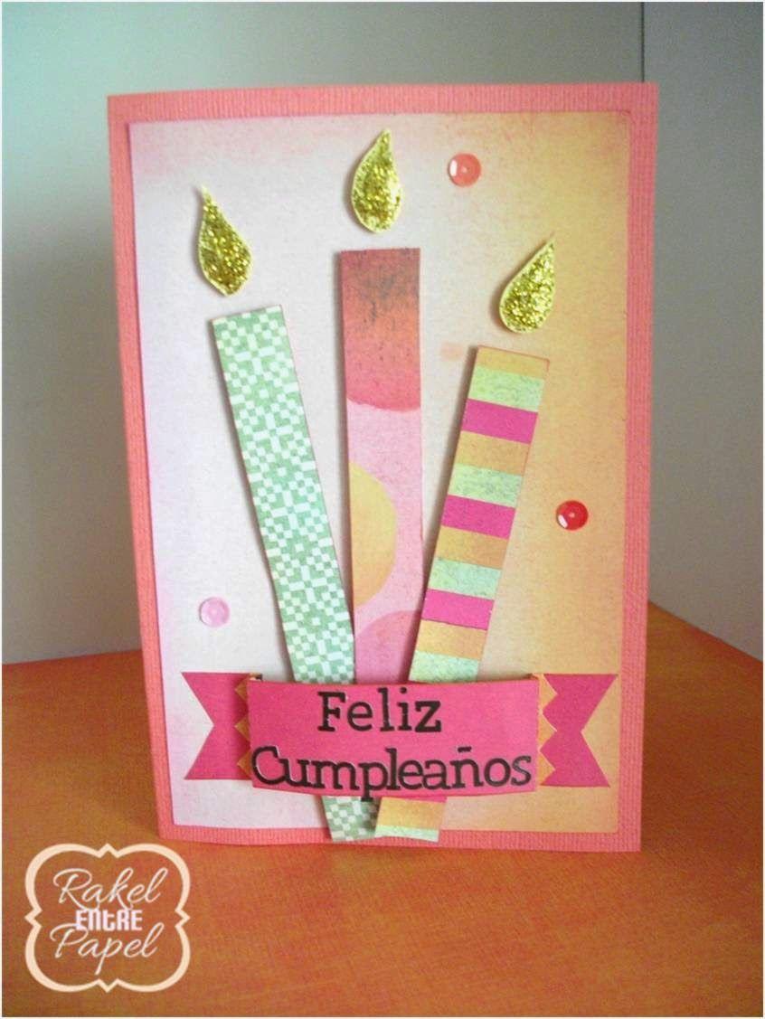 Mi primer encargo bolsita y tarjeta de cumple a juego bricolaje y manualidades pinterest - Manualidades y bricolaje ...