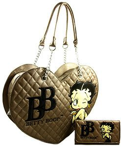 Betty Boop Busy Bee Womens Quilted Handbag
