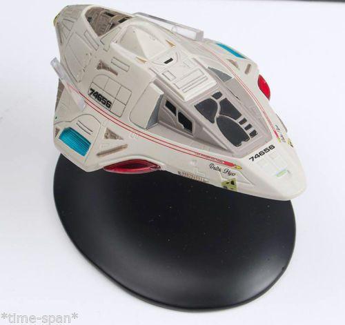 Star Trek Collection #38 Delta Flyer USS Voyager Diecast Model & Mag Eaglemoss | eBay