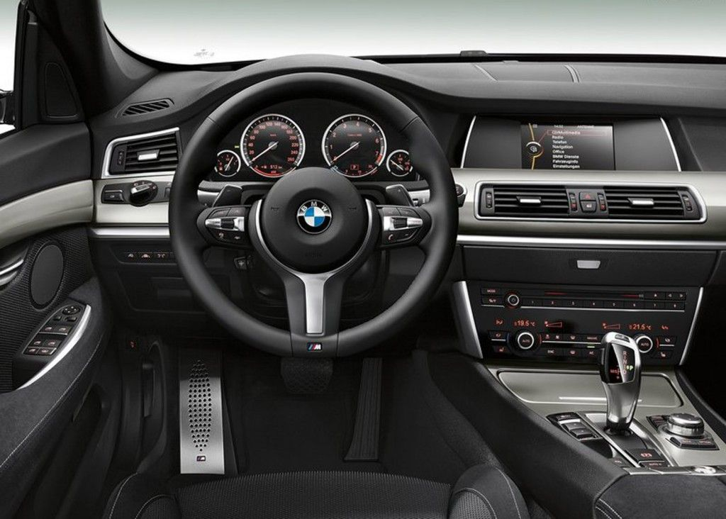 2014 Bmw 5 Series Gran Turismo Interior Wallpaper 3 With